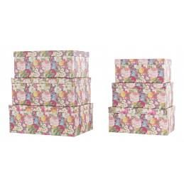 set 12 scatole fiori